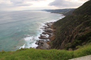 Rugged seacoast south Australia