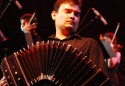 Headshot of bandoneonist Hector del Curto who is featured in Soundstreams' Squeezebox accordion concert