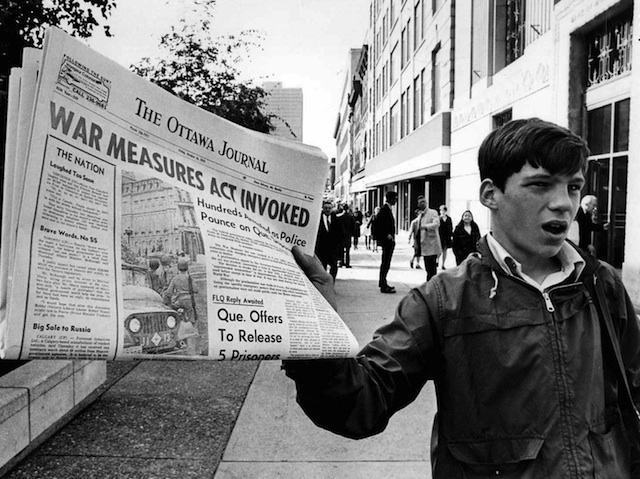 an overview of the october crisis and the front de liberation du quebec To what extent were the government actions in the october crisis in quebec  in october of 1970 there was a  the october crisis was when the front de liberation .